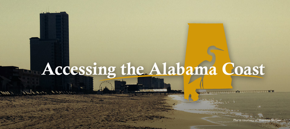 Accessing the Alabama Coast
